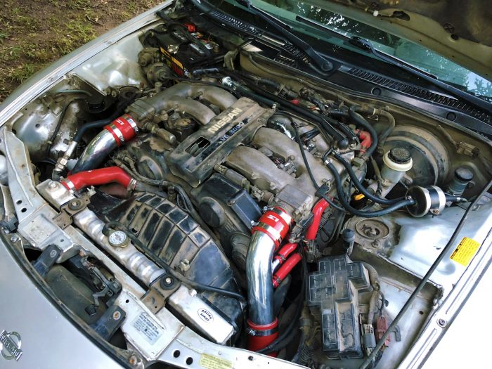 nissan 300zx na engine bay
