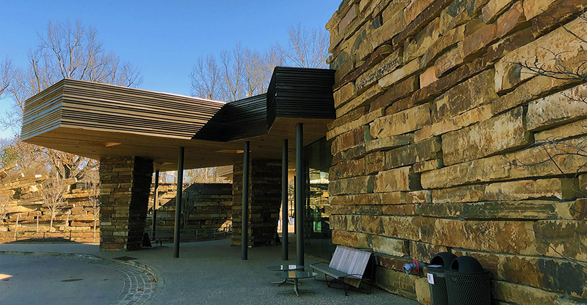 Gathering Place lodge entrance