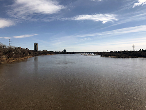 Tulsa, OK Arkansas River